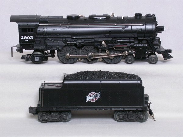 1: Lionel 18630 CNW 4-6-2 and tender, OB
