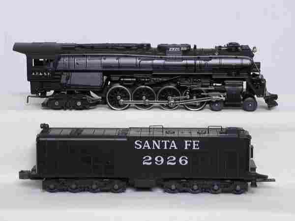 Rail King 30-1140-1 Santa Fe 4-8-4 #2926, OB