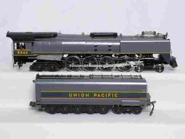 Weaver 3-rail Union Pacific 4-8-4 #8444 in gray