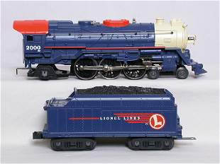 Lionel 28026 Lionel Lines command 4-6-2 #2000