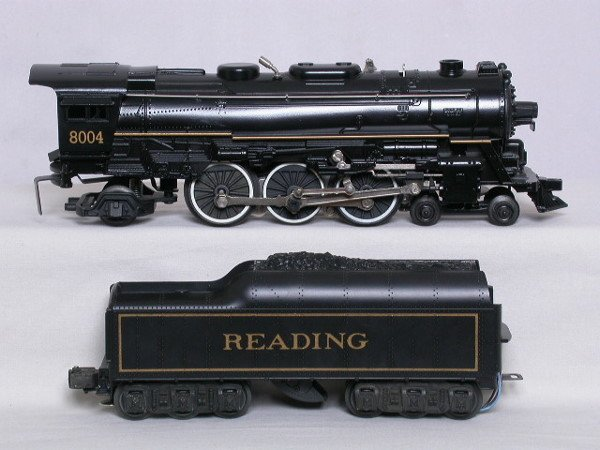 13: Lionel 18004 Reading 4-6-2 and tender, OB.