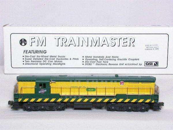 Weaver? SA-1002 CNW Train Master diesel, OB