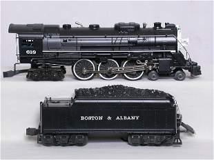 Lionel 18042 Boston and Albany 4-6-4, OB.