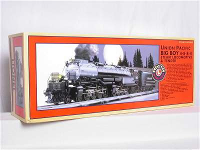 29: Lionel 28029 Union Pacific Big Boy 4-8-8-4, OB