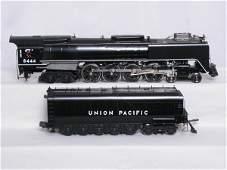 36: Weaver 3-rail Union Pacific 4-8-4 #8444 in black