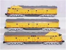 85: Weaver 3-rail Union Pacific E-8 A-B-A set