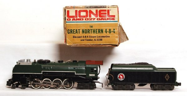 2003: Lionel 3100 The Great Northern 4-8-4 in OB