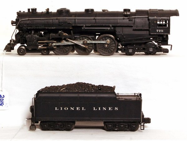 2018: Lionel 1950 773 4-6-4 Hudson and 2426W tender