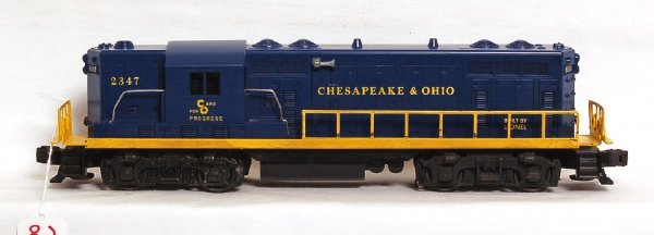 2804: Tough Sears Lionel 2347 Chesapeake and Ohio GP