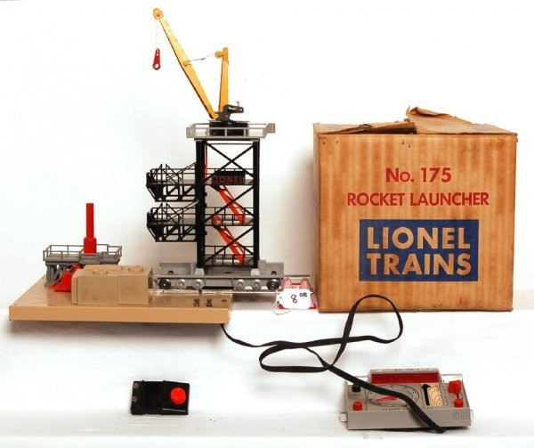 8: Lionel No. 175 rocket launcher in OB w/insert
