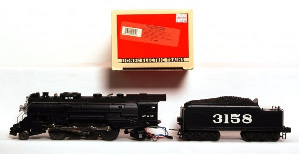 13: Lionel 18034 Santa Fe Mikado Steam Sounds II