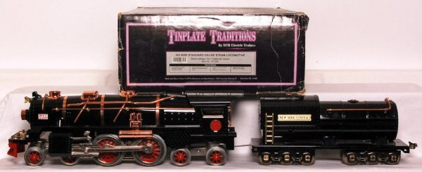 257: MTH T.T. 10-1061 400E black w/brass in OB
