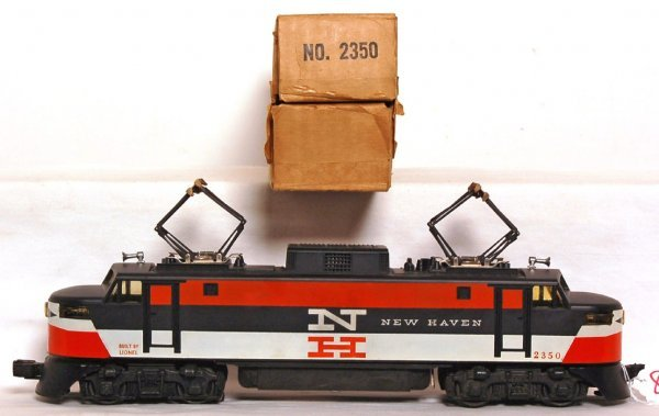 806: Nice Lionel 2350 New Haven electric, OB