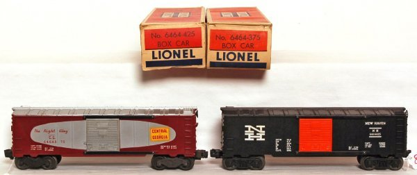 808: Lionel 6464-375 C of G, 6464-425 NH OB