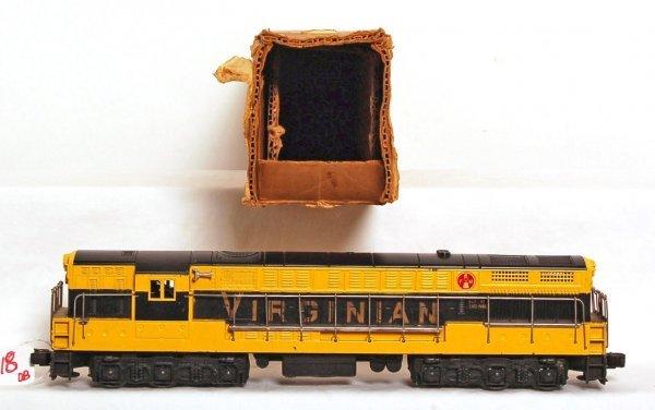 818: Lionel 2331 Virginian FM, black and gold, OB