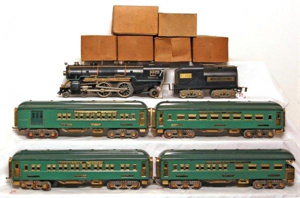 819: American Flyer prewar Minuteman train, 4695 loco
