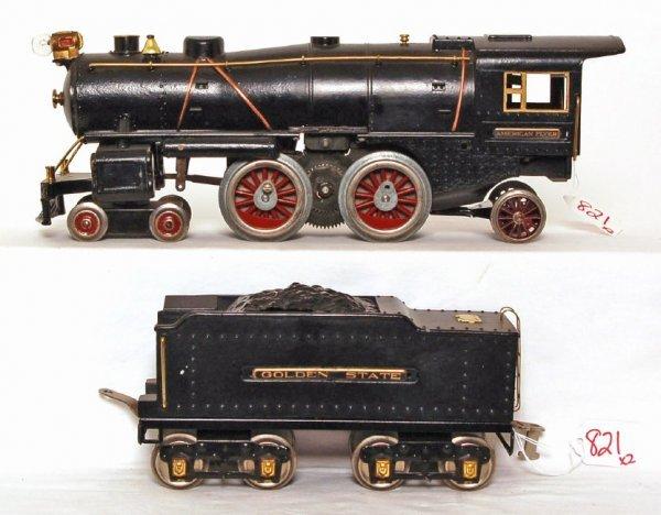 821: American Flyer prewar wide gauge steam loco