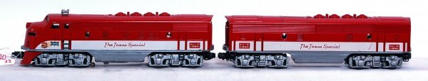 20: Lionel 2245P and 2245C Texas Special F-3
