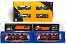 297: K-Line, Atlas and Weaver cars in OB