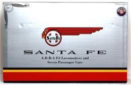 582: Lionel 21786 Santa Fe A-B-B-A passenger set in OB