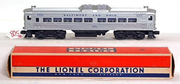805: Lionel 2559 Baltimore and Ohio, very nice, OB