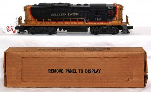 807: Lionel 2349 Northern Pacific GP, OB