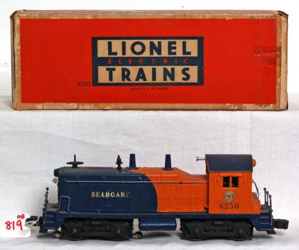 819: Lionel 6259 Seaboard NW-2 diesel switcher in OB