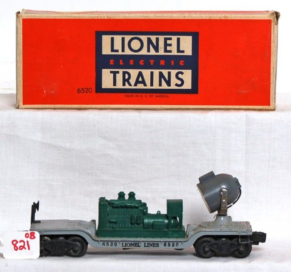 821: Tougher Lionel 6520 w/green generator in OB