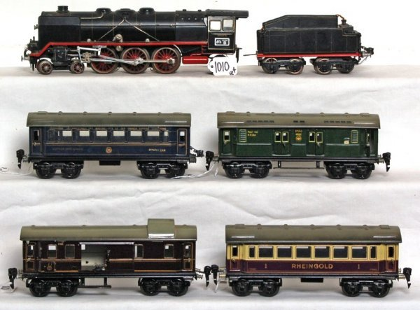 1010: Marklin O gauge train set with HR 66/12920 4-6-0