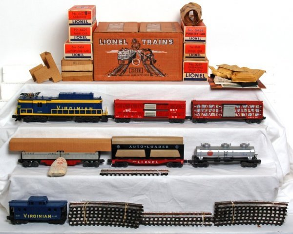 1015: Fantastic Lionel 2513W boxed set, 2329 Virginian