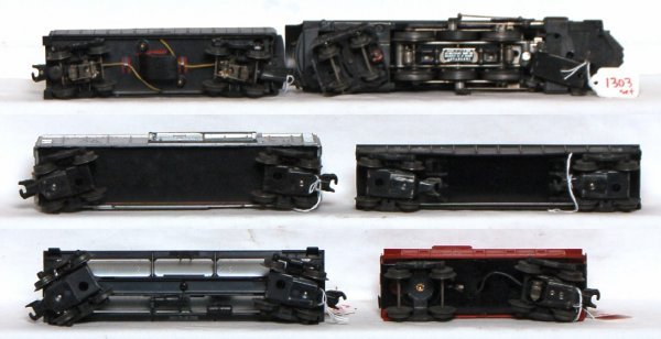 1303: Boxed Lionel 1505WS freight train set, 2046... - 3