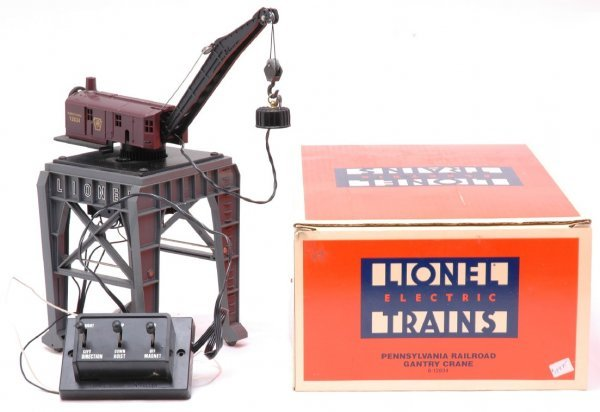 3: Lionel 12834 Pennsylvania Gantry Crane Boxed
