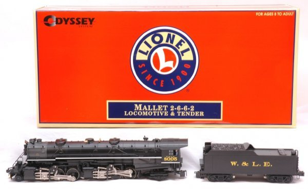 15: Lionel 38012 W and Lake Erie Engine Tender LN OB