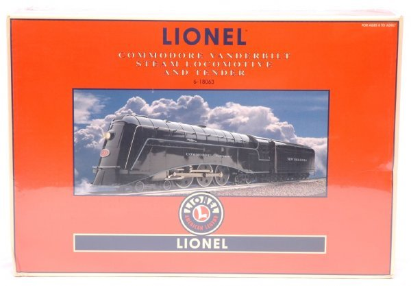 17: Lionel 18063 Commodore Vanderbilt MINT Boxed