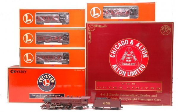20: Lionel 31704 Chicago and Alton Pass Set LN OB