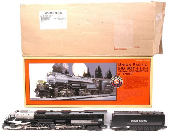 24: Lionel 28029 UP Big Boy 4-8-8-4 Loco MINT Boxed