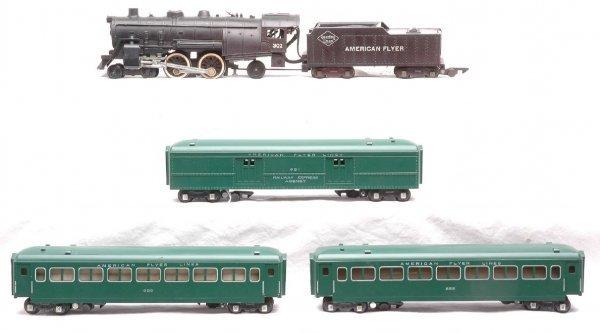 602: Am Flyer Green Pass Set 302 651 655 655