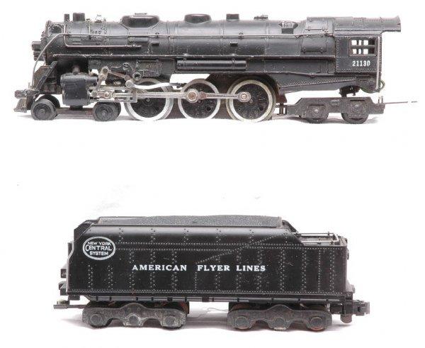 606: Am Flyer 21130  NYC Hudson Steam Loco Tender