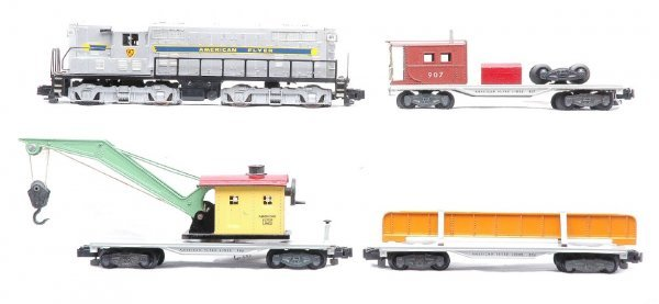 610: Ameircan  Flyer Freight Set 371 906 907 909