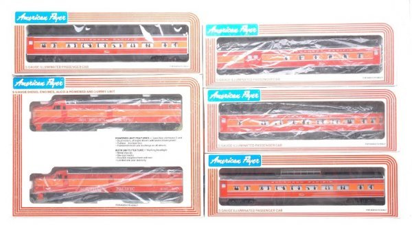 618: AF Southern Pacific 8150 9501 9501 9503 Boxed