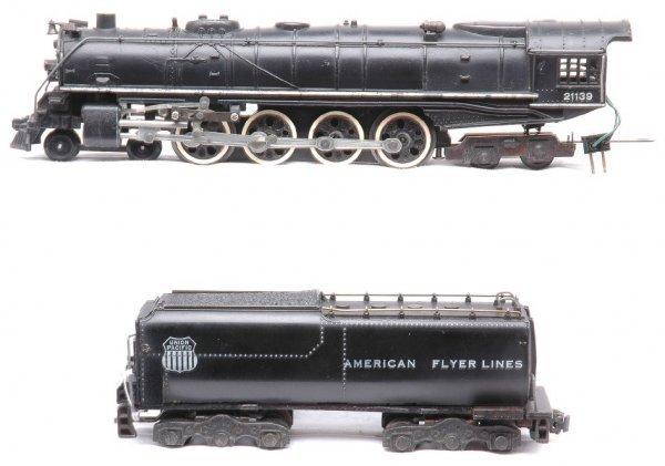 709: AF 21139 UP 4-8-4 Northern Steam with Tender