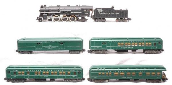 751: AF 293 Steam Tender Green 951 952 953 954