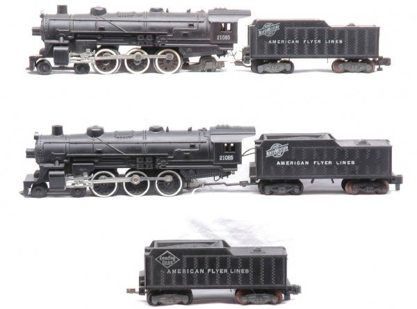 755: AF two 21085 C and NW 4-6-2 Locos with Tenders