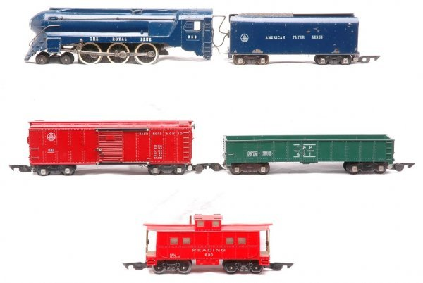 756: Am Flyer Royal Blue Set 350 633R 631 630