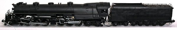 167: Brass O scale 2 rail 4-6-6-4 loco and tender