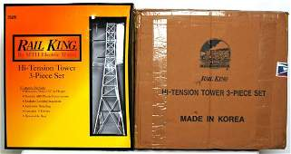 377 Three MTH Rail King 301056 high tension towers