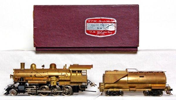 803: KTM Scale Models brass Union Pacific 2-8-0