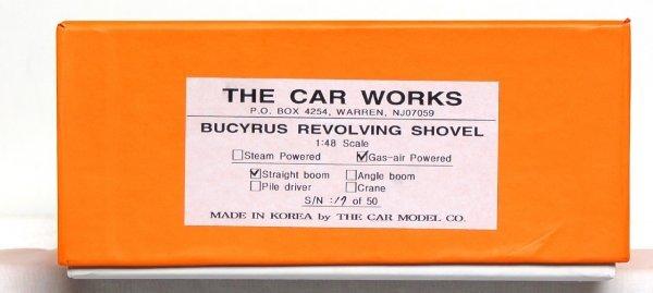 805: The Car Works brass Bucyrus revolving shovel