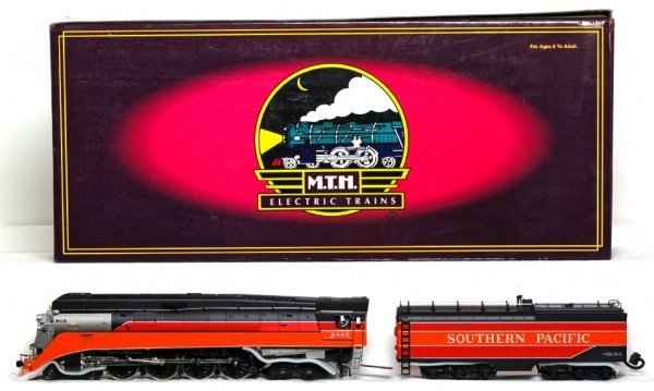 806: MTH 20-3029-2 Southern Pacific 4-8-4 GS-4 in OB