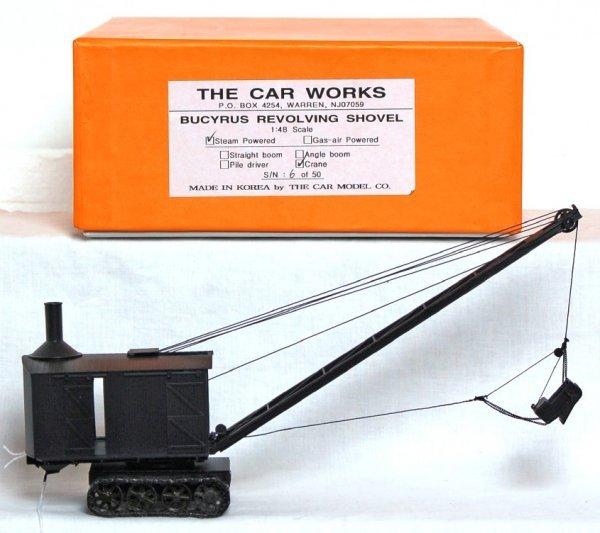808: The Car Works brass Bucyrus revolving shovel
